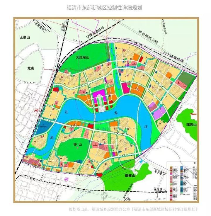福清2020规划图东部