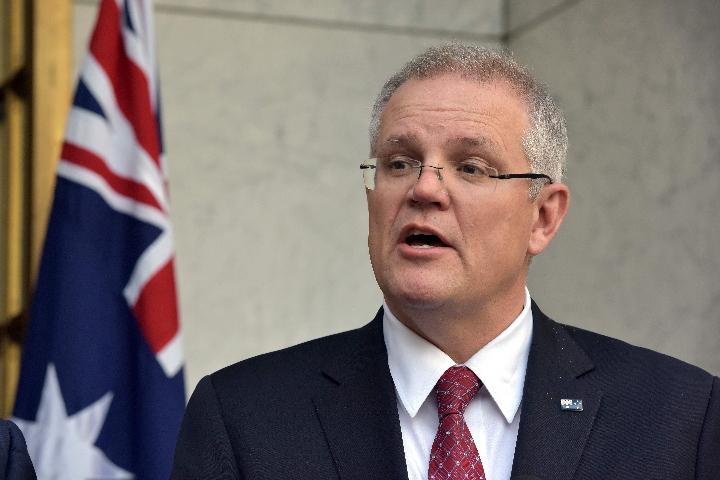 澳大利亚总理斯科特    莫里森.(新华 / 法新)