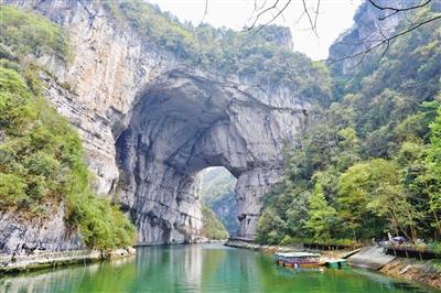 大天门 位于新蒲新区三渡镇的云门囤景区,地处洛安江,湄江,湘江三江