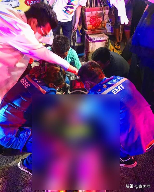 泰国学生伸出援手 救助车祸中国游客