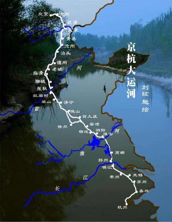昔日京杭水道忙,今日扬州仍辉煌