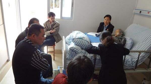 一个必须面对的现实问题:_中国老人与子女