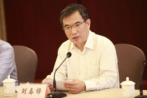 北京市委统战部副部长、市侨办主任刘春锋讲话。贾广超 摄