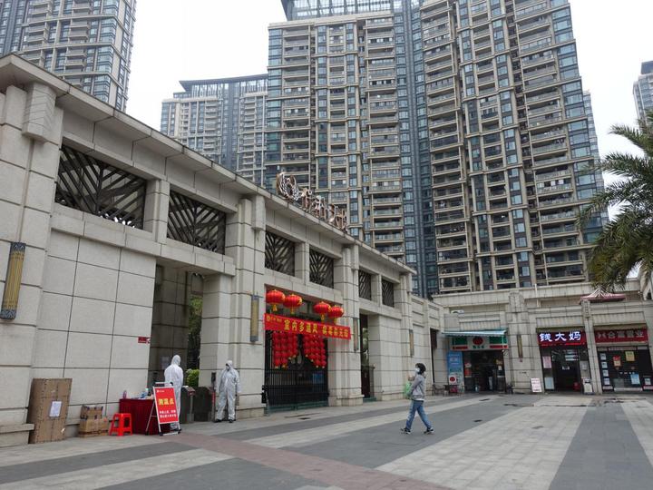 广州市海珠区楼盘大厦连续出现六宗确诊个案