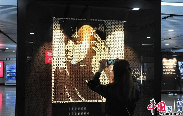 """上海:5万块饼干打造""""无与伦比艺术展"""""""