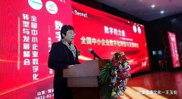 全国中小企业数字化转型与发展峰会在菏泽成功举办