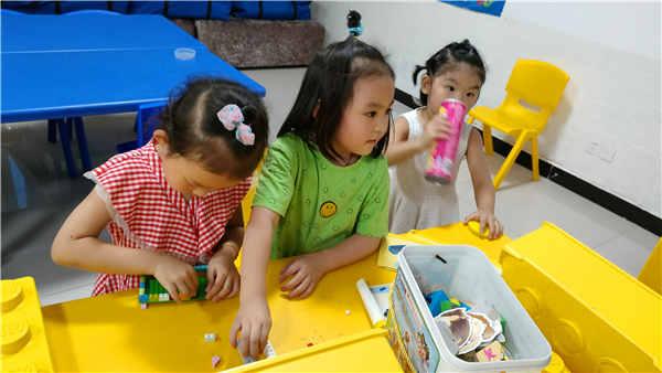 钓鱼台儿童服务站恢复陪伴了,让我们一起快乐成长