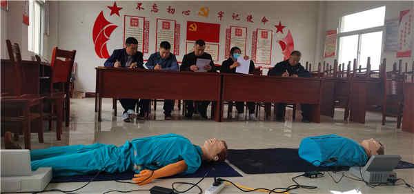 安徽省防灾减灾救灾协会救援队在蚌埠市怀远县吴桥村开展急救培训活动